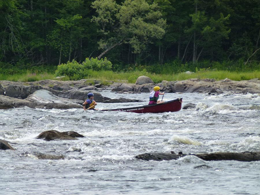 2015 ACA Whitewater Open Canoe Downriver Competition