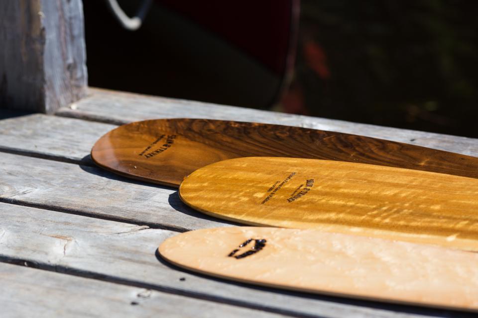 Wooden Canoe Paddles & Oars - Species Matter (Ash, Spruce