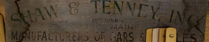 While technically founded in 1858, this hand painted sign dug up from the archives shows that the company was actually doing business two years before that. Either way, we're still the second oldest manufacturer of marine products in the United States today.